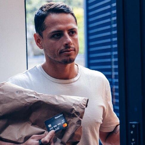 "Vamos Pay Prepaid Card Javier ""Chicharito"" Hernandez Image"
